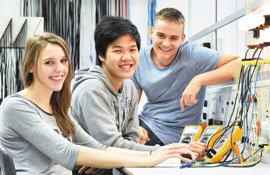 Ausbildungsberuf Elektroniker/in für Betriebstechnik bei Electrovac